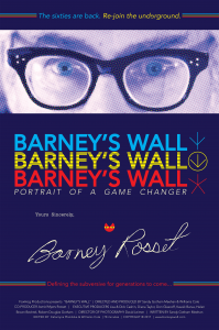 Barney's Wall official film poster.