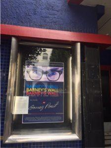 Dec 2017: Outside the Roxie Theatre in San Francisco